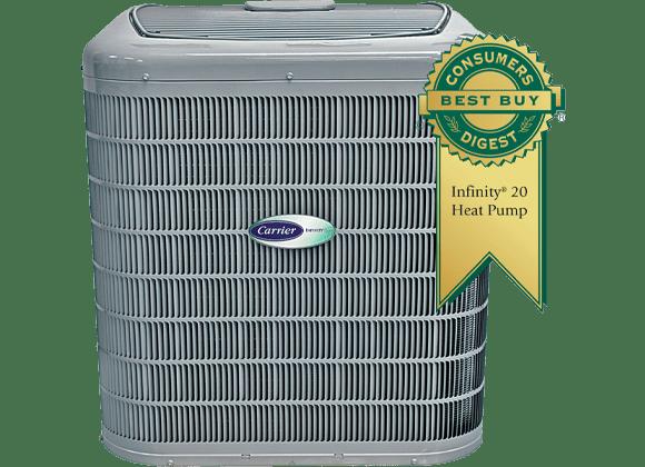 heat pump in Lansing best buy consumers digest