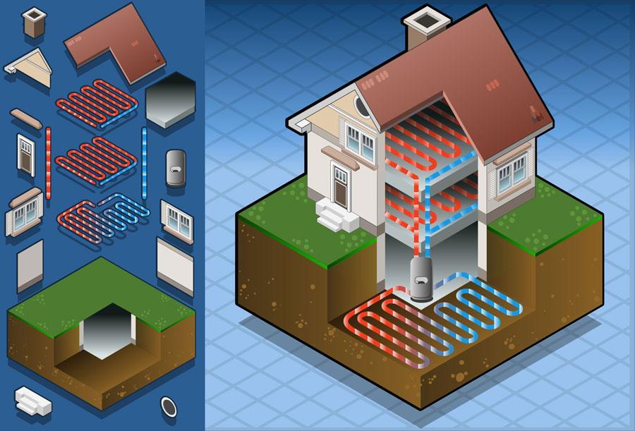 Geothermal Heating In Lansing, DeWitt, & Portland, MI